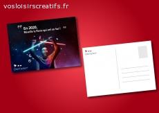 """10 cartes postales """"Réveille la force qui est en toi"""""""