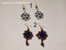 bijoux artisanaux avec perles