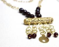 Bijoux artisanaux Tunisiens : Collier Tube