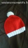 Bonnet bébé Noël