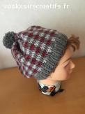 Bonnet boho en laine