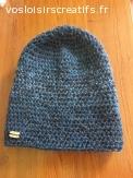 Bonnet en laine alpaga doux et chaud