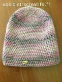 Bonnet en laine alpaga et cachemire