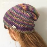 Bonnet en laine doux et chaud