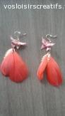 boucles d oreilles papillon