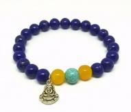 Bracelet Buddha lapis-lazuli Turquoise Jade