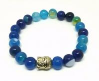 Bracelet Buddha perle en verre