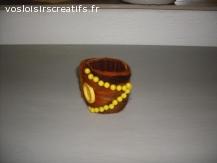 Bracelet en feutrine