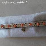 """Bracelet """" LAPIN D 'ALICE """""""