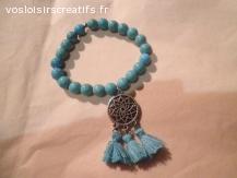 bracelet perles ''TURQUOISE ''