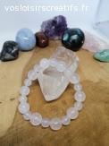 Bracelet taille enfant en Quartz (cristal de roche)