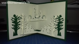 Carte 3D- Crèche