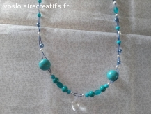 "collier  ""TROPIC TURQUOISE"""