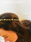 couronne perles