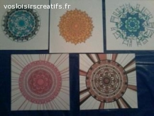 Décorations en couleurs