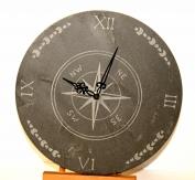 horloge en ardoise