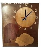 """Horloge géante """"le baiser"""""""