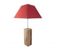 Lampe De Table 76 Cm, Bois Noble : Prunier, Merisier, Séquoi