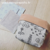 Lingettes en tissu