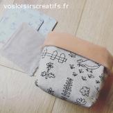 Lingettes en tissu