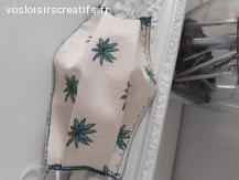 Masque tissu 100% coton