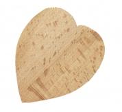 Ouvre bouteille / décapsuleur en bois de hêtre model : cœur
