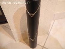 parure bracelet et ras de cou argent 925/1000