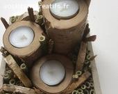 plateau décoratif bambou