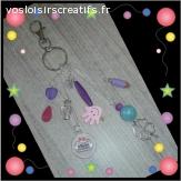 Porte/ cle bijoux de sac