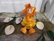 poupées fleurs fofuchas