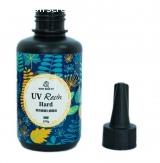 Résine UV de type dur transparente durcit à la lampe UV 100g