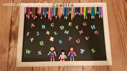 Tableau playmobil alphabet