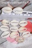 200 Cauris Coquillages Perles de Cauris Coquillage 2cm-2,5cm