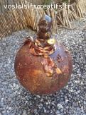 Adorable petit bouddha zen