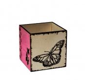 boite à crayons rose