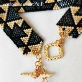 Bracelet fait main perles miyuki