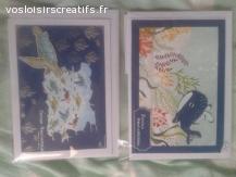 Carte anniversaire Mer / baleine / tortue / méduse
