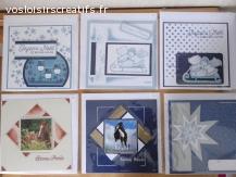 """Cartes de """"Noël"""" / """"Joyeuses Fêtes"""" /  """"Bonne année"""""""