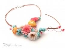 collier bouquet de printemps