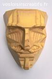 Masque Anonymous en bois