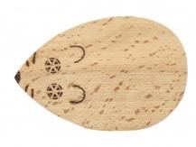Ouvre bouteille / décapsuleur en bois de hêtre  souris