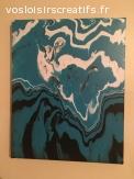 Peinture sur toile style touring 2