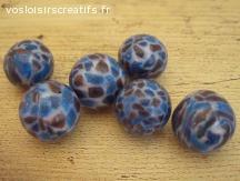 Perles rondes faites maison