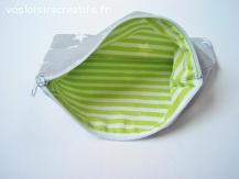 Pochette de sac ou petite trousse multi-usage - Etoiles