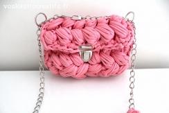 Sac à main/Pochette Pink Meringue