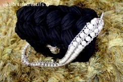 Sac à main/ Pochette bandoulière Noir pour femmes/filles