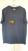 T-shirt avec 6 scorptions LGBT brodés à la machine.